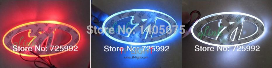 option one,car logo light for Lada Priora,car badge light,auto led light,auto emblem led lamp 12*9cm(China (Mainland))