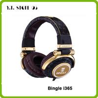 Bingle i365 Camouflage Noise Cancelling Deep Bass Hifi DJ Studio Monitor Gaming Music Stereo Over Ear Headphone Earphone Headset