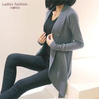 2014 New Fashion Women Knitted Sweater Cardigan Outerwear Shawl Casual Long Sleeve Jacket Knitwear Coats Jacket Free Shipping