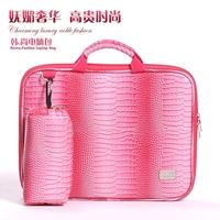 "Korea Style Lady Fashion Ultrabook Handbag for Macbook, for Lenovo, for DEll Laptop Sleeve Case 13""14""15""inch Notebook bag"