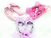 Retail ! in stock spring & autumn Baby girls shoes! infant toddler fashion cotton prewalker LittleSpring GLZ-X0012
