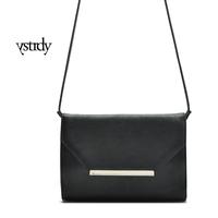 one piece retail 100% high quality pu leather  envelope shape women messager handbag  item no: 82070