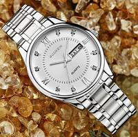 GUANQIN The new Ultra-thin quartz watch men watch waterproof dual calendar luminous business men watch