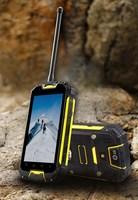 New walkie talkie phone snopow m9 android 4.2 smartphone ip68 waterproof mobile phone cell phones rugged phone ptt gprs mtk6589w