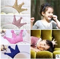 Children's hair hoop Crown head buckle princess hair band acessorios cabelo hair accessories for girls hair donut baby hairband