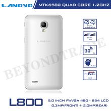 Original Landvo L800 Smartphone Andorid 4 2 MTK6582 Quad Core 4G ROM 5 0 Touch Screen