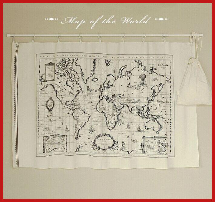 segundos matar 1 peças/lote sortidas 72x142cm mapa cottonsewing tecido de têxteis-lar quilting tilda pano(China (Mainland))