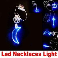 Flash Led Necklaces Light, Decorations,Wedding Reception,Children's Girls Christmas Party Valentine Gift,Valentine's Day Gift