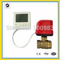 CWX50P 2-way AC220V DN20 Brass motorized valve