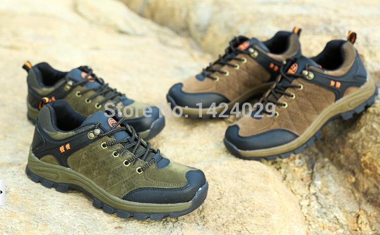 Nova Marca Original Boa Qualidade táticos impermeáveis Antislip Rubber Esporte Sole Cushioning Outdoor Caminhadas sapatos para homens e mulheres(China (Mainland))