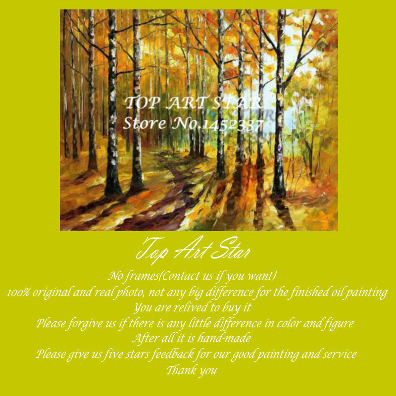 Knife Birch Contemporary Oil Paintings Knife Birch Wholesale Oil Paintings Knife Oil Paintings For Living Room TASN0021(China (Mainland))