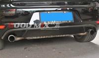 Volkswagen VW Golf MK6 GTI Type-A Carbon Fiber Rear Bumper Diffuser Rear Lip