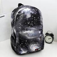 galaxy backpack men canvas starry harajuku school bags for teenagers mochila men