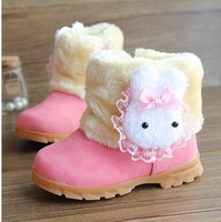 2014 male female child boots child snow boots thickening cotton boots