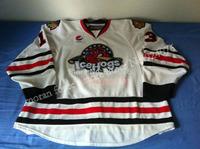 2009-10 David Phillips Jersey #13 Rockford IceHogs Jerseys ICE Hockey Jerseys Belfast Giants White - Customized IceHogs Jerseys