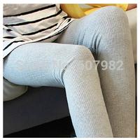 New Arrival High Waist Korean Legging Solid Fitness Women Cotton Leggings Stretch Skinny Legging Pants Leggings For Women