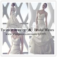 Мода вера милая органзы вышивки красный свадебное платье империи талии свадебное платье реальные фото