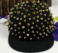 HOT Men and women general hat with rivets hip-hop cap cap baseball cap