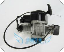 49cc Mini Moto Engine air cooled 2 stroke Aluminum Pull Starter for pocket bike (China (Mainland))