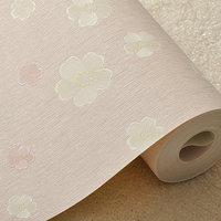 2014 new waterproof non-woven wallpaper romantic small floral wallpaper backdrop bedroom living room study