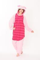 Adult Pajamas All in One Pyjama Animal Suits Cosplay Adult Flannel Garment Flannel Piglet Cute Cartoon Animal Onesies
