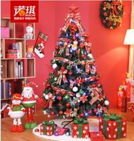 180 cm1. 8 m Christmas tree meal Luxury to encrypt the Christmas tree Han edition wind Christmas decorations