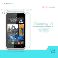 Nillkin Glass Film for HTC Desire 210 Tempered Screen Protector Tempered For HTC Desire 210 Tempered with Pakage Free shipping
