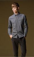 2014 Autumn Casual Long-Sleeved Plaid Men Shirt Sanding Blusas XXXXL 5XL Plus Size Men
