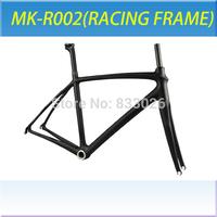 Material de la alta mk completo de carbono marco de las carreras de bicicleta de carretera marco -002 carbono fijado en venta