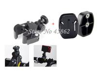 Motorcycle Bike Bicycle Handlebar Handle Bar Camera GoPro Mount+quick release plate+Free shipping