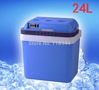 24L Portable Refrigerators 12 V Car Freezer Outdoor Camping Mini Cooler Bag Engineering Bags Domestic Fridge