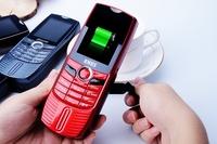 Original ENES E2014 Hand Power Generation Cellphone Dual SIM GSM Huge Battery 4800Mah Power Bank Mobile Phone
