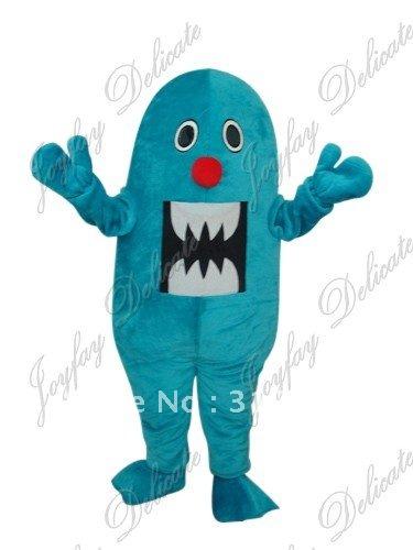 Giant blue shark sea animal adult size mascot costume free shipping(China (Mainland))