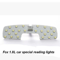 Fox 1.8L car special LED reading lights in situ original car interior reading light LED reading light
