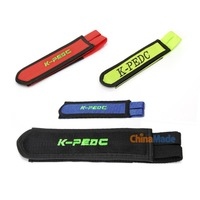 1 Pair Fixed Gear Fixie BMX Bike Bicycle Double Velcro Pedal Toe Straps