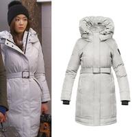 Long down parkas women winter jackets brand fashion designer down coats Astrid Ladies Parka
