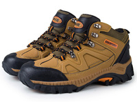2014 New Arrivval Net Surface Breathable Cross-country Outdoor High-Top Men Climbing Shoe 3 Colors XYD016