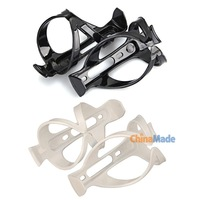 2 x Bike Bicycle Cycling Mountain Sport Water Bottle Plastic Cage Holder