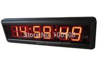 7- segment high quality 3inch 6 digital large china indoor led clock