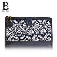 Floral vintage Fashion Baroque style Jacquard Travel Bag Necessaries Medium  Bolsas Femininas Christmas gift  national style