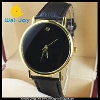 alibaba express hot sale charming fashion women leather watch(WJ-2676)