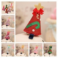 cute Chrismas Hair clips Hair Accessory Sculpture Hair Clippie fashion hair flowers