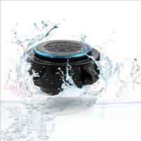1Pcs2014 New  Wireless Bluetooth Speaker TF AUX USB FM Radio With Built-in Mic Hands-free Portable Mp3 Mini Waterproof SpeakerJX