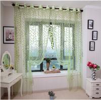 (W)3M*(H)2.7M/lot rustic curtain yarn customize modern living room organza fabric sheer curtains panels