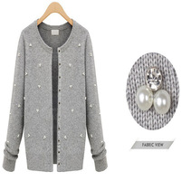 2014 Fashion Women Knit Cardigans Coat Spring and Autumn Casual Design Single Breasted Europe and American Style SA112