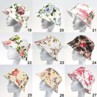 2014 new adult models of new beach bucket hat sun hat beach 18 kinds of styles 5pcs/lot