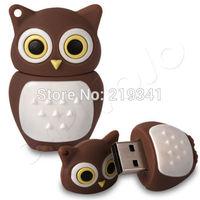 Quality New Model 4GB/8GB/16GB/32GB USB 2.0 USB Flash Drive Thumb Disk Pen Memory Stick GF186 owl