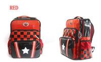 High quality waterproof  PU children backpack, girls boys school bag