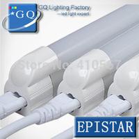 50pcs/lot 10W 15W 18W 20W 21W 22W 25W T8 LED tube light integration tube led daylight sunlight lamps lights 2835 chip LED lamp