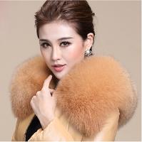 2014 Winter warm Women's Rabbit Fur Coat Fox Fur Collar Medium-long Hooded Fur Coats Plus Size S-XXL Overcoat Jacket